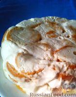 Фото к рецепту: Торт из пряников, со сметанным кремом