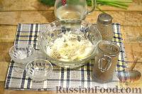 Фото приготовления рецепта: Салат из говядины, яиц и маринованных огурцов - шаг №2