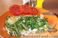 Фото к рецепту: Стручковая фасоль с яйцом