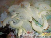 Фото приготовления рецепта: Салат из куриной печени, с корейской морковью - шаг №5