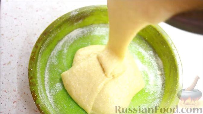 Фото приготовления рецепта: Постный апельсиновый манник - шаг №7