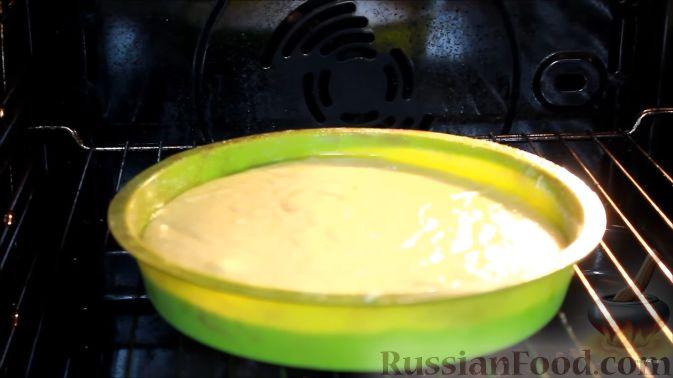 Фото приготовления рецепта: Постный апельсиновый манник - шаг №8