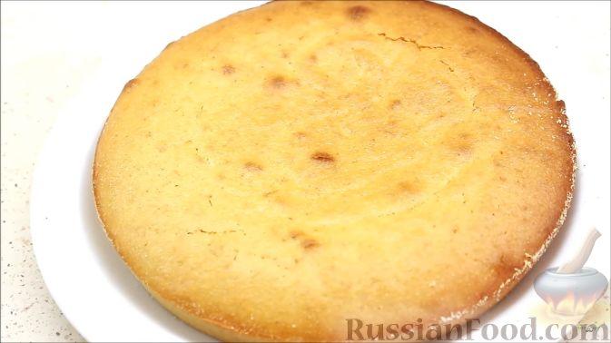 Фото приготовления рецепта: Постный апельсиновый манник - шаг №9