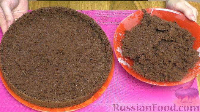 """Фото приготовления рецепта: Торт """"Пьяная вишня"""" - шаг №10"""