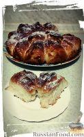 Фото к рецепту: Отрывной пирог с варёной сгущёнкой