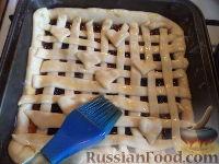 Фото приготовления рецепта: Пирог с повидлом или джемом - шаг №13