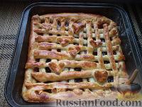 Фото приготовления рецепта: Пирог с повидлом или джемом - шаг №15