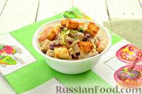Фото приготовления рецепта: Весенний салат с куриной грудкой - шаг №9