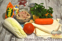 Фото приготовления рецепта: Мясной рулет из лаваша - шаг №1