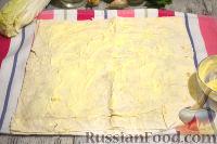Фото приготовления рецепта: Мясной рулет из лаваша - шаг №7