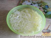 Фото приготовления рецепта: Салат с сердцем и зеленым горошком - шаг №7