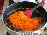 Фото приготовления рецепта: Салат с сердцем и зеленым горошком - шаг №10