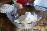 """Фото приготовления рецепта: Печенье """"Курабье"""" - шаг №2"""