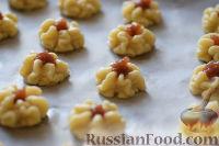 """Фото приготовления рецепта: Печенье """"Курабье"""" - шаг №7"""