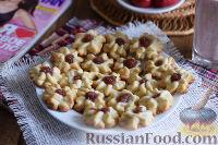 """Фото приготовления рецепта: Печенье """"Курабье"""" - шаг №8"""