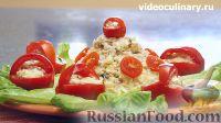 Фото приготовления рецепта: Салат из сельди по-домашнему - шаг №11
