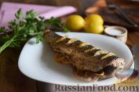 Фото приготовления рецепта: Горбуша, запеченная в духовке целиком - шаг №8