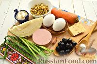 Фото приготовления рецепта: Салат с капустой и колбасой - шаг №1