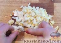 Фото приготовления рецепта: Салат с креветками и рисом - шаг №6