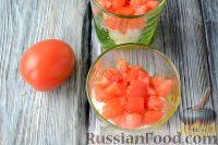 Фото приготовления рецепта: Салат с языком, авокадо и тапенадом - шаг №7