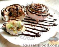 Фото к рецепту: Десерт из зефира (без выпечки)