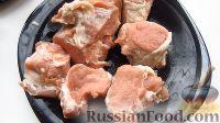 Фото приготовления рецепта: Жаркое из свинины, в томатном соусе - шаг №2
