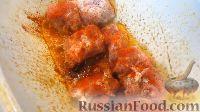 Фото приготовления рецепта: Жаркое из свинины, в томатном соусе - шаг №3