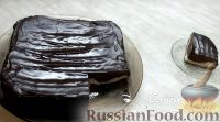 Фото приготовления рецепта: Шоколадный брауни с творожной начинкой - шаг №14
