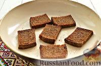 Фото приготовления рецепта: Тартинки с паштетом и перепелиными яйцами - шаг №4