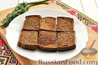 Фото приготовления рецепта: Тартинки с паштетом и перепелиными яйцами - шаг №5