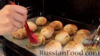 Фото приготовления рецепта: Пампушки с чесноком - шаг №9