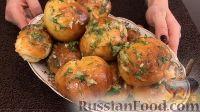Фото приготовления рецепта: Пампушки с чесноком - шаг №10