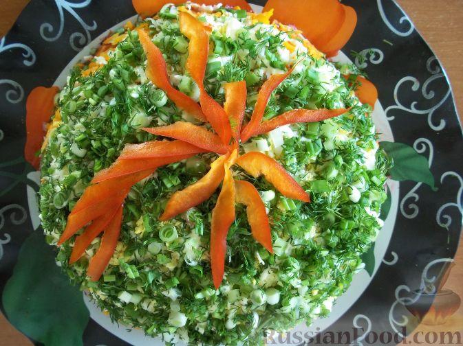 салаты слоеные со свеклой рецепты с фото