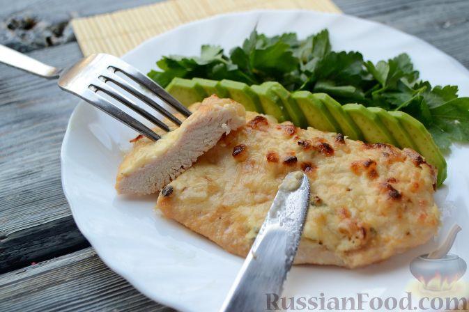 Куриная грудка под сырным соусом из «Маскарпоне» и ...
