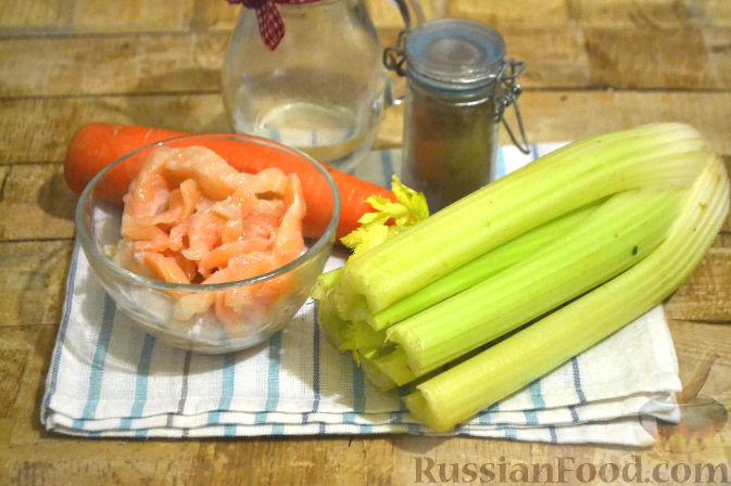 салат из черешков сельдерея рецепт с фото