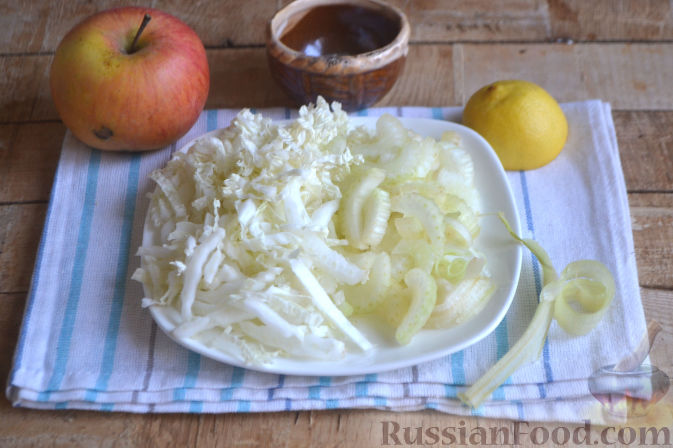 Фото приготовления рецепта: Тарт с инжиром - шаг №3