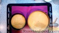 """Фото приготовления рецепта: Торт """"8 Марта"""" с фруктами - шаг №4"""