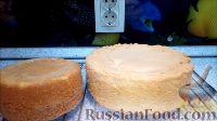 """Фото приготовления рецепта: Торт """"8 Марта"""" с фруктами - шаг №5"""