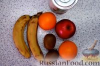 """Фото приготовления рецепта: Торт """"8 Марта"""" с фруктами - шаг №12"""