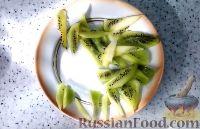 """Фото приготовления рецепта: Торт """"8 Марта"""" с фруктами - шаг №21"""
