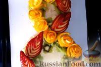 """Фото приготовления рецепта: Торт """"8 Марта"""" с фруктами - шаг №22"""