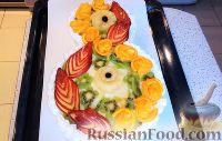 """Фото приготовления рецепта: Торт """"8 Марта"""" с фруктами - шаг №23"""