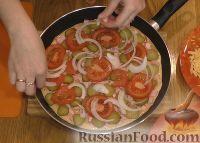 Фото приготовления рецепта: Пицца на сковороде за 10 минут - шаг №3