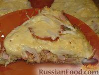 Фото приготовления рецепта: Пицца на сковороде за 10 минут - шаг №6