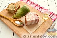 Фото приготовления рецепта: Салат из редьки, с беконом и сухариками - шаг №1
