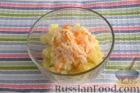 Фото приготовления рецепта: Винегрет с солеными груздями - шаг №3
