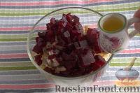 Фото приготовления рецепта: Винегрет с солеными груздями - шаг №6