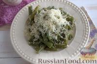 Фото к рецепту: Стручковая фасоль с сыром