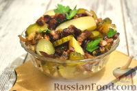Фото к рецепту: Немецкий картофельный салат с беконом