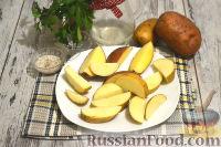 Фото приготовления рецепта: Немецкий картофельный салат с беконом - шаг №2